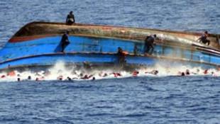 Tekneleri alabora oldu: 4 göçmen ölü