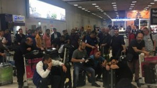 37 Türk iş adamı Bangkok'ta mahsur kaldı