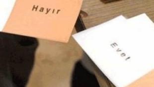 Memurlara ''EVET'' , ''HAYIR'' özgürlüğü
