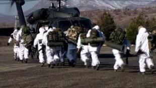 Diyarbakır'da 4 tabur askerle operasyon
