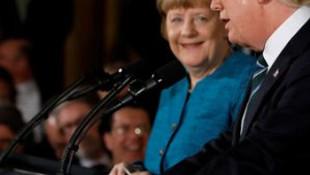 Trump-Merkel arasında tokalaşma krizi