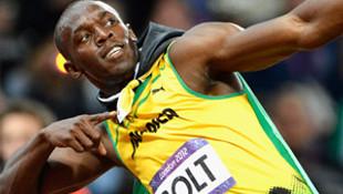 Bolt'lu Jamaika 4x100'de şampiyon