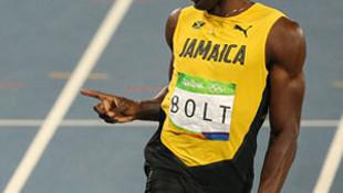 Usain Bolt bir bunu yapmamıştı