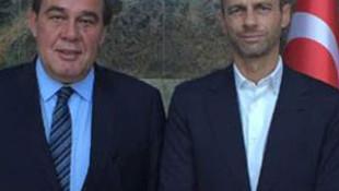 UEFA başkan adayından TFF'ye ziyaret