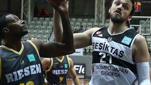 Beşiktaş lider bitirdi