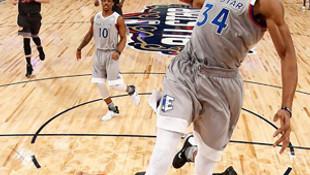 NBA All-Star'da tarihe geçen maç