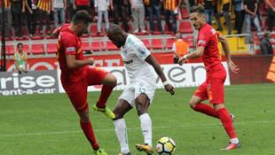 Kayserispor - Bursaspor: 3-1