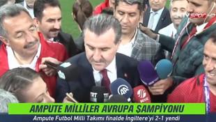 Cumhurbaşkanı Recep Tayyip Erdoğan'dan Vodafone Arena yorumu