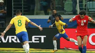 Brezilya Şili'ye acımadı !