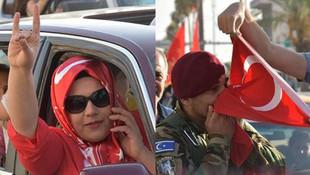 Irak ordusu Kerkük'ü geri aldı ! İşte ilk görüntüler...