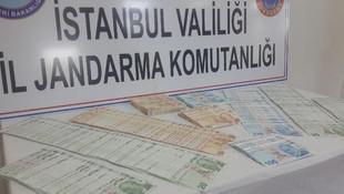 İstanbul'da jandarmadan sahte para baskını