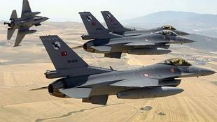 Zap bölgesine bomba yağdı: 5 terörist ölü