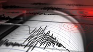 O adada 6.4 büyüklüğünde deprem