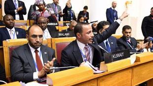 Kuveyt Meclis Başkanı İsrail heyetini kovdu
