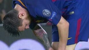 Messi maçın ortasında glukoz hapı çiğnedi