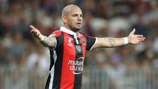 Wesley Sneijder'den müjdeli haber