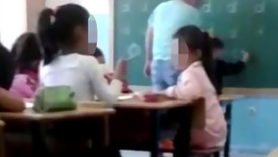Dayakçı öğretmen gözaltına alındı