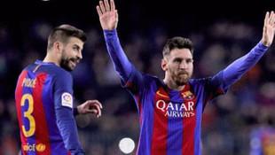 Messi ile Pique birbirine girdi !