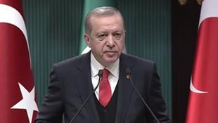 Erdoğan: En kısa sürede istifa edeceklerine inanıyorum