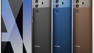 Huawei Mate 10 Pro'nun yeni görseli sızdı