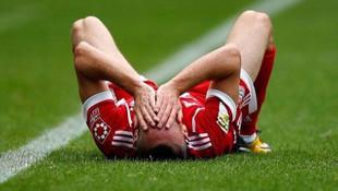 Bayern Münih'te Frank Ribery şoku