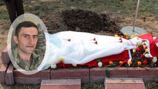 Şehit uzman çavuşun mezarındaki gelinliğin sırrı ortaya çıktı
