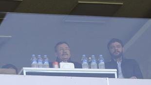 Melih Gökçek, Osmanlıspor maçını izledi