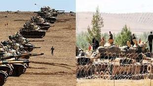 Irak-Suriye hattına 3'lü Türk koridoru...