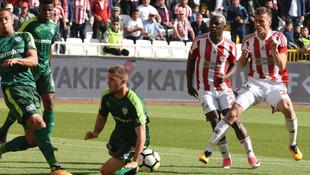 Süper Lig'de bir ilk ! Sivasspor maçı...