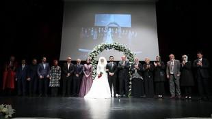 Erdoğan nikah törenine katıldı