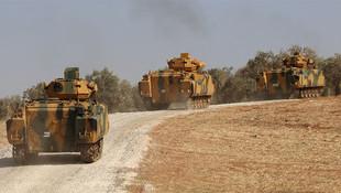 TSK, İdlib'de ilerliyor ! Helikopterle uyarı broşürleri dağıtıldı