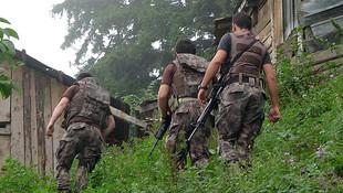 PKK'nın Karadeniz'deki inlerine baskın