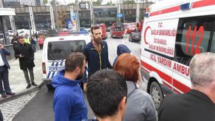 Ataşehir'deki yangından Datome de etkilendi