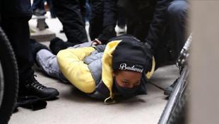 ABD'de yol kapatma eylemi: 143 gözaltı