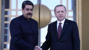 Erdoğan ve Maduro ortak açıklama