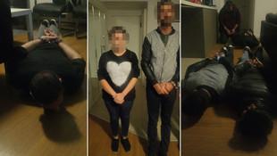 Rezidansta işkence ! Polis kurtardı...