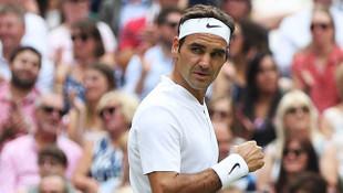 Federer, yarı finale yükseldi