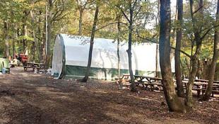 Belgrad Ormanı'nda çadıra şoke eden operasyon