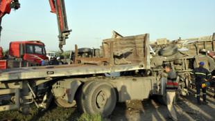Hatay'da feci kaza: 19 yaralı