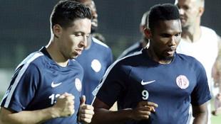 Eto'o ve Samir Nasri Antalyaspor'dan ayrılmak istiyor
