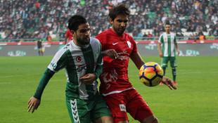 Antalyaspor'da Eto'o 1 puanı kurtardo
