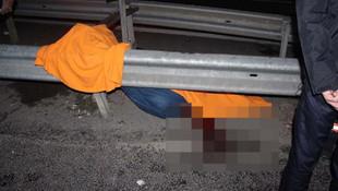 Yol kenarında akrabalarını bekliyordu... Korkunç ölüm