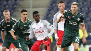 Salzburg - Konyaspor: 0-0