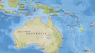Pasifik ülkesinde 7.0 büyüklüğünde deprem