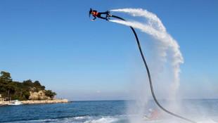Flyboardcular Antalya'yı ısıttı !