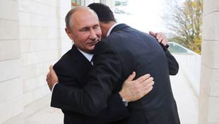 Beşar Esad, Rusya'da Putin'le görüştü