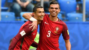 Pepe'den Cristiano Ronaldo'ya çağrı