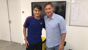 Cengiz Ünder: Totti beni yanına çağırıp...