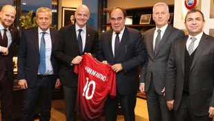 Gianni Infantino'dan TFF'ye ziyaret