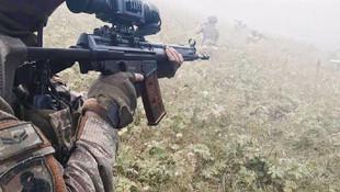 Giresun'da teröristlerle çatışma çıktı